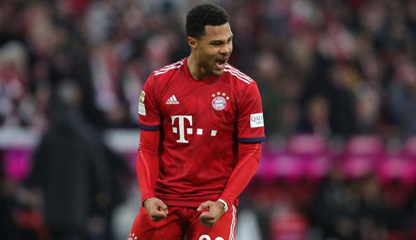 Serge Gnabry Verlangert Beim Fc Bayern Vertrag Laufzeit Statistik