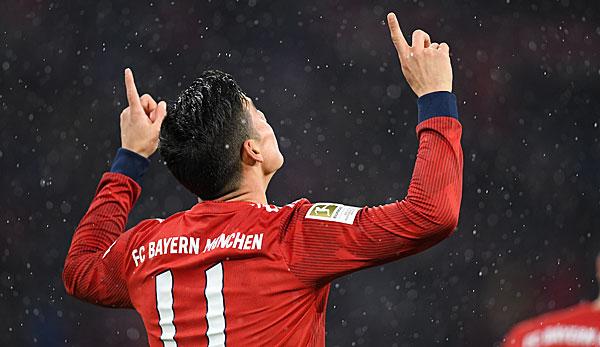 Real Madrid plant nicht mit James Rodriguez - Bayern-Leihgabe jetzt Spanier