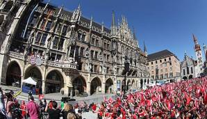 FC Bayern München: Double-Feier des FC Bayern heute im TV/LIVESTREAM