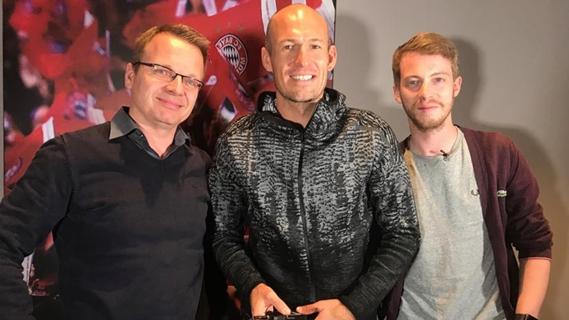 SPOX und Goal trafen sich mit Arjen Robben zum exklusiven interview.