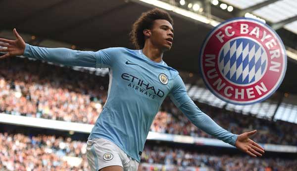Manchester City Fc Bayern Angebot Für Sane