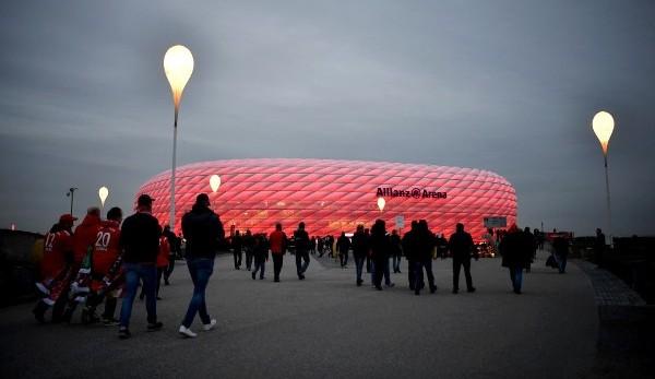 Einlass Allianz Arena