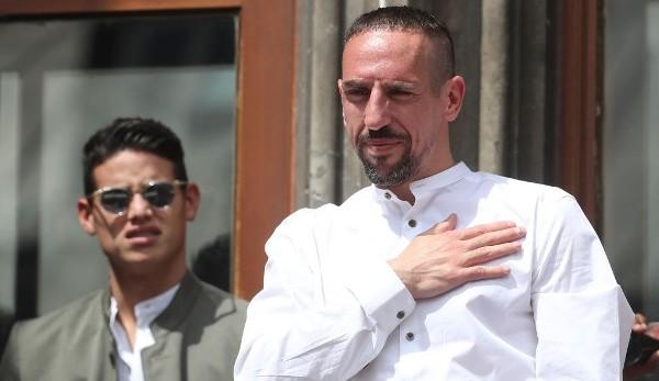 FC Bayern, News und Gerüchte: Zieht es Franck Ribery in die Premier League?