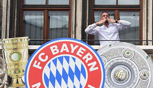 FC Bayern: Franck Ribery will noch zwei Jahre auf Top-Niveau spielen