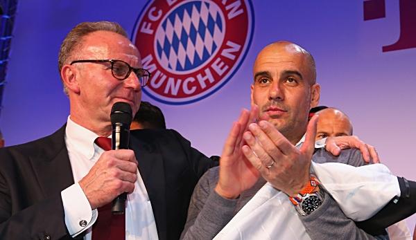 FC Bayern: Rummenigge kontert Guardiola nach Sane-Statement