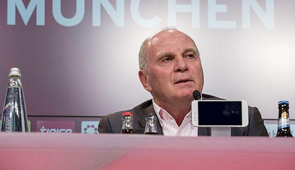 Hoeneß Pressekonferenz