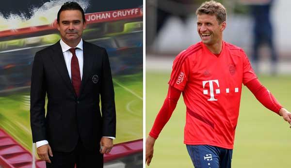 FC Bayern: Thomas Müller vor Winter-Wechsel? Ajax-Sportdirektor Overmars: Er kann mich anrufen