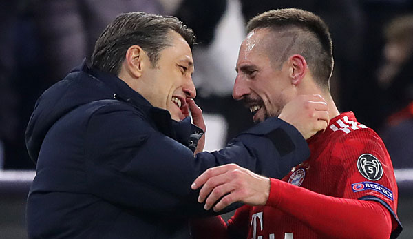 FC Bayern München - Franck Ribery lobt Niko Kovac: Wer kann noch etwas gegen den Trainer sagen? Niemand