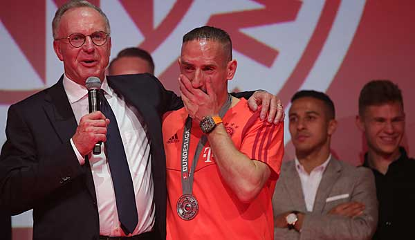 FC Bayern: Rummenigge adelt Ribery für Florenz-Wechsel - Lob für Ivan Perisic