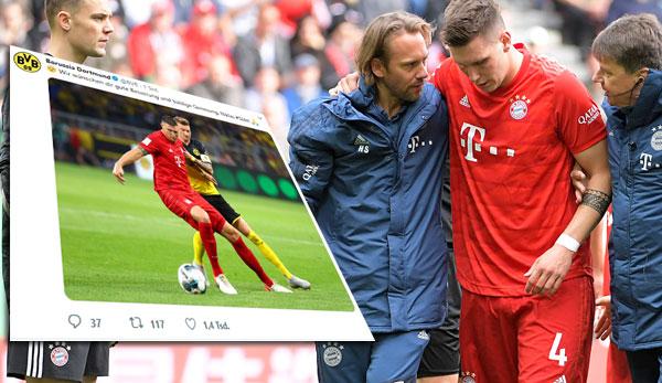 Horror-Diagnose bestätigt! Bayern-Abwehrchef Niklas Süle erleidet Kreuzbandriss