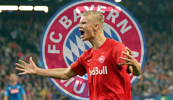 FC Bayern München: Erling Haaland von RB Salzburg offenbar im Visier des FCB