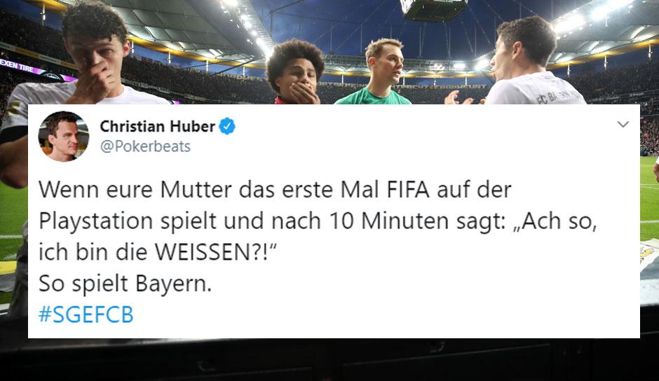 Netzreaktionen Zur 15 Klatsche Des Fc Bayern Bei Eintracht