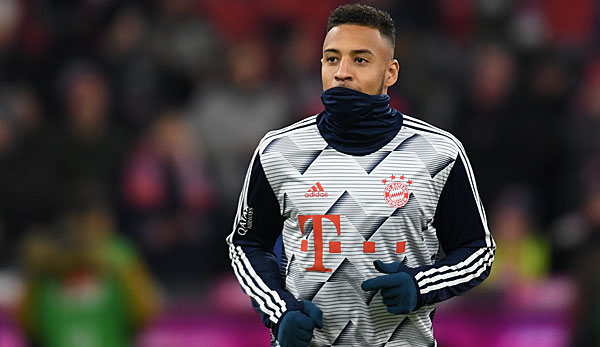 Corentin Tolisso had to stop training Wednesday.