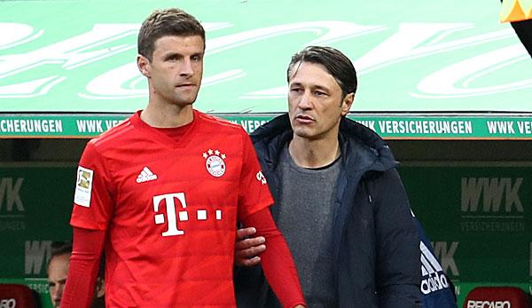 """FC Bayern München: Thomas Müller kann Reservisten-Rolle unter Niko Kovac """"nicht nachvollziehen"""""""
