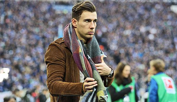 Leon Goretzka vom FC Bayern München im Interview: Im KZ habe ich angefangen zu weinen