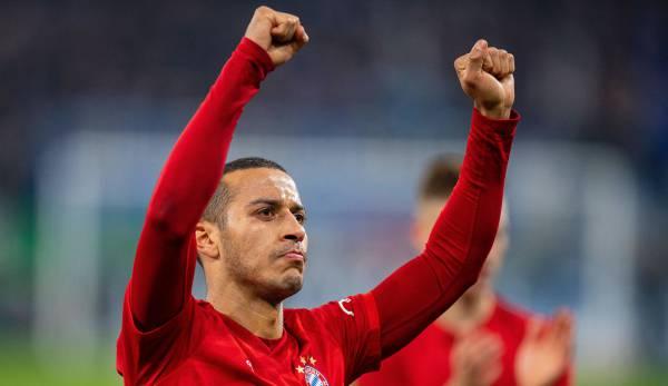 FC Bayern München - News und Gerüchte: Thiago angeblich vor Vertragsverlängerung