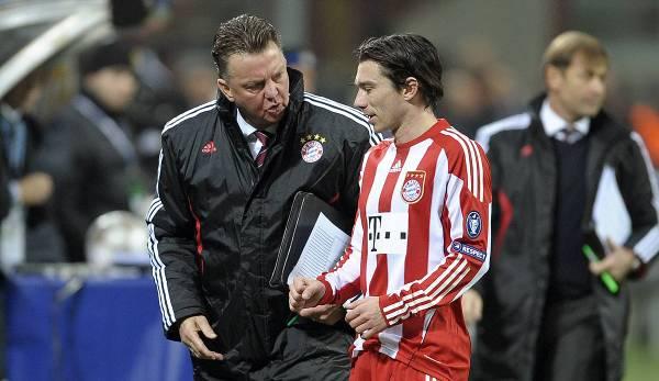 Anspruchsvoll und perfektionistisch: Pranjic verstand sich mit van Gaal, einige andere Spieler hingegen nicht.