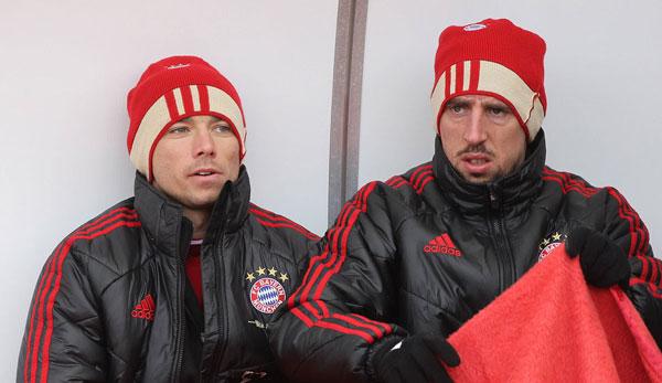 Franck Ribery (r.) war Pranjics bester Mitspieler - hatte aber große Probleme mit van Gaal.