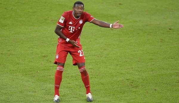 David Alaba est sous contrat avec le FC Bayern jusqu'en 2021.