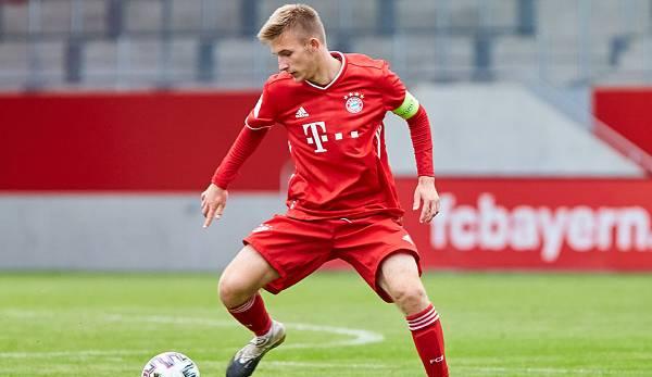 Torben Rhein hat seinen auslaufenden Vertrag beim FC Bayern verlängert.