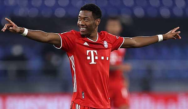 Wird den FC Bayern im SOmmer ablösefrei verlassen: David Alaba.