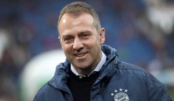 Flick ist trotz Punktverlusten in der Bundesliga optimistisch vor dem Lazio-Spiel.