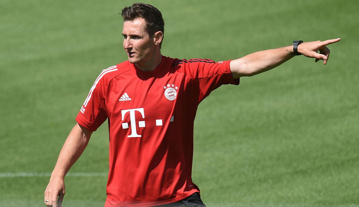 FC Bayern München, News und Gerüchte: Miroslav Klose offenbar weiterhin Flicks Co-Trainer - SPOX