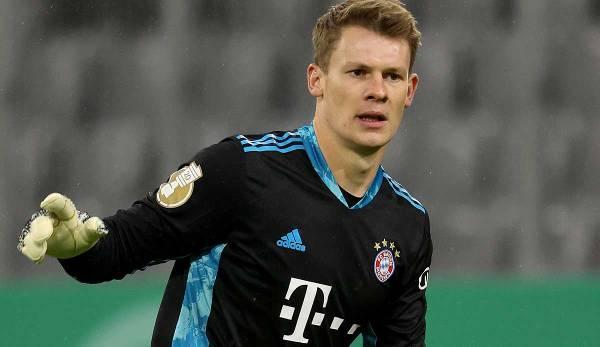 Alexander Nübel kam bei den Bayern erst zweimal zum Einsatz.