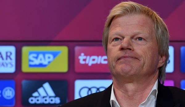 Vorstand Oliver Kahn (51) vom FC Bayern München hat kein Verständnis für das Verhandlungs-Verhalten von Berater Pini Zahvi.