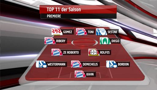 top 11, saison