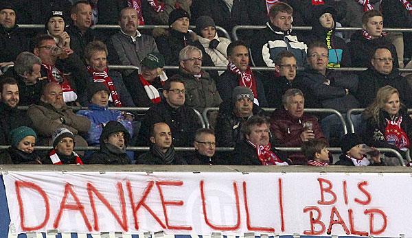 Die Bayern-Fans wünschen sich eine Rückkehr ihres zurückgetretenen Präsidenten