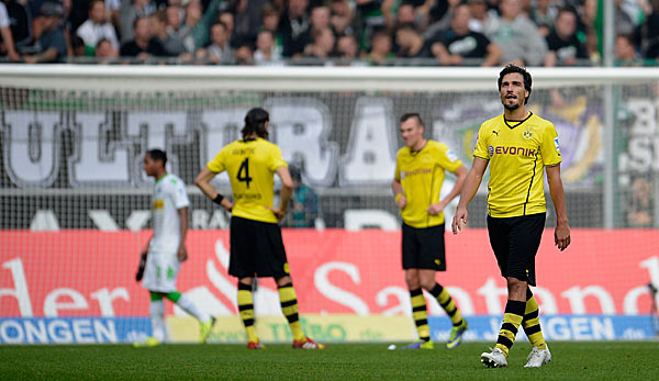 Borussia Dortmund scheiterte in Gladbach unterm Strich an sich selbst