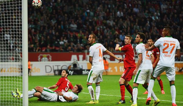 3:3! Bremen ringt Bayer einen Punkt ab