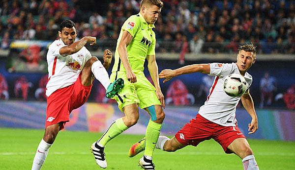 Leipzig schlägt FCA und stellt Neuling-Rekord auf