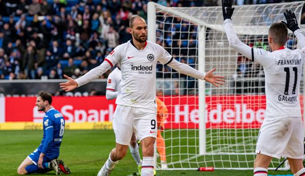 TSG 1899 Hoffenheim - Eintracht Frankfurt 1:2: Erster Sieg seit November - SGE beendet Krisenserie