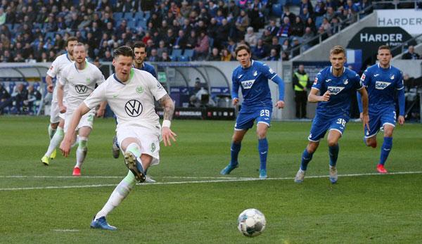 TSG 1899 Hoffenheim - VfL Wolfsburg 2:3: Dreierpack! Wout Weghorst schießt Wölfe zum Sieg