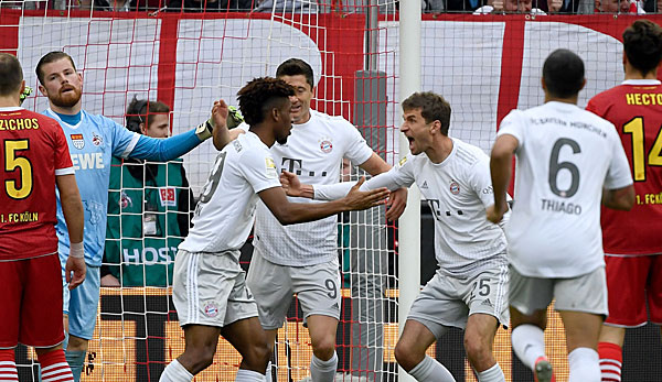 FC Bayern München - Thomas Müllers historischer Nachmittag: Zwei Rekorde vor den Augen Coutinhos