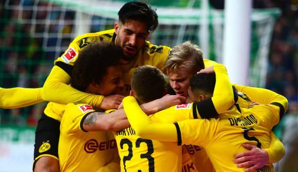 SV Werder Bremen - Borussia Dortmund 0:2: Arbeitssieg nach CL-Glanz! BVB müht sich in Bremen zum nächsten Dreier