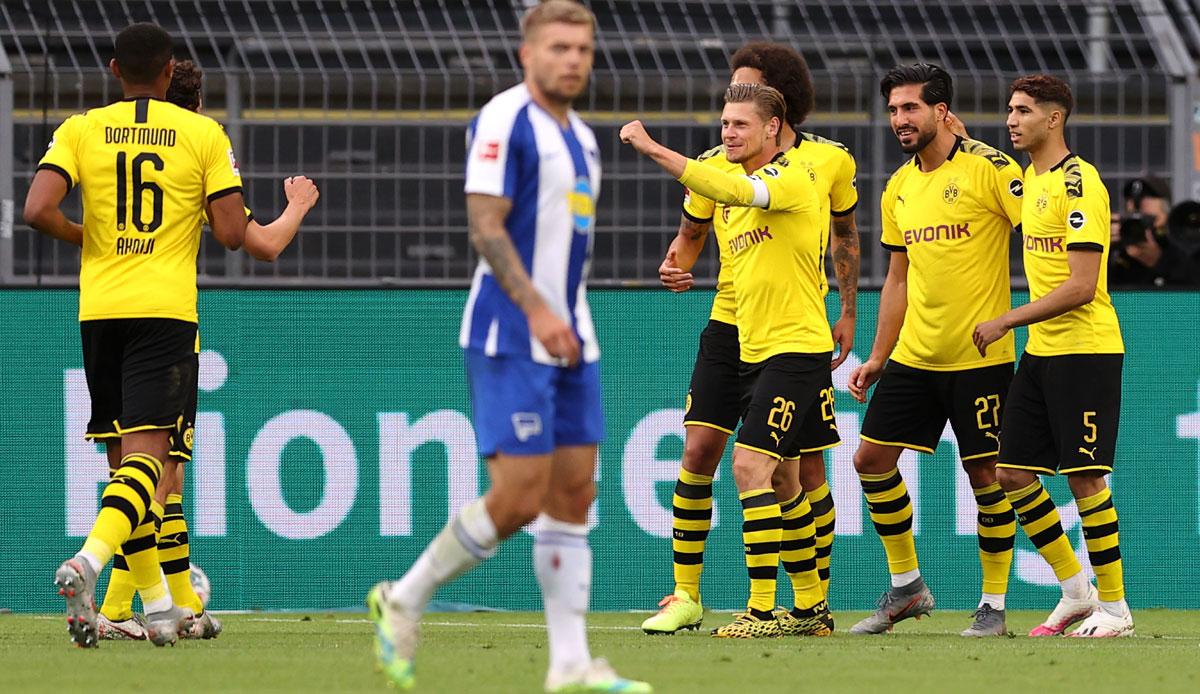 Dortmund Gegen Hertha Bsc