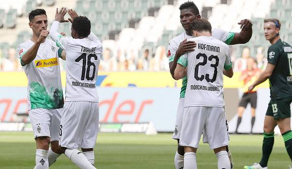 SC Paderborn 07, Borussia Moenchengladbach
