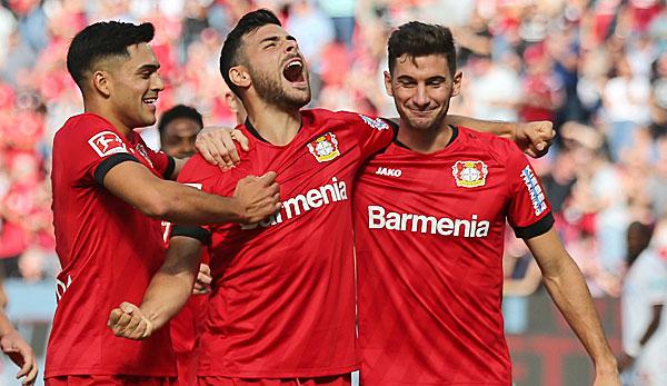 Bayer Leverkusen - Union Berlin 2:0: Souveräne Werkself beendet Mini-Krise