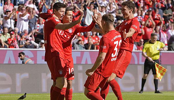 FC Bayern - Sehr beeindruckende Geste: Lewandowski, Coutinho und die Harmonie