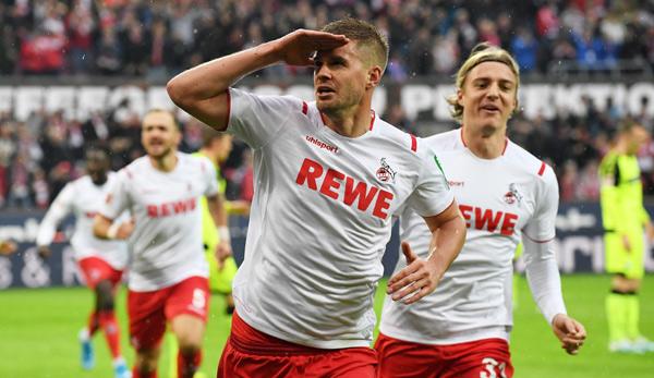 1. FC Köln - SC Paderborn 07 3:0: Effzeh erkämpft im Aufsteiger-Duell ersten Heimsieg der Saison