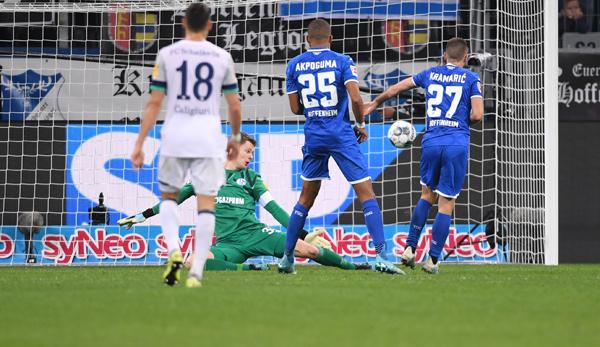 TSG 1899 Hoffenheim - FC Schalke 04 2:0: S04 stürzt beim Sturm an die Spitze