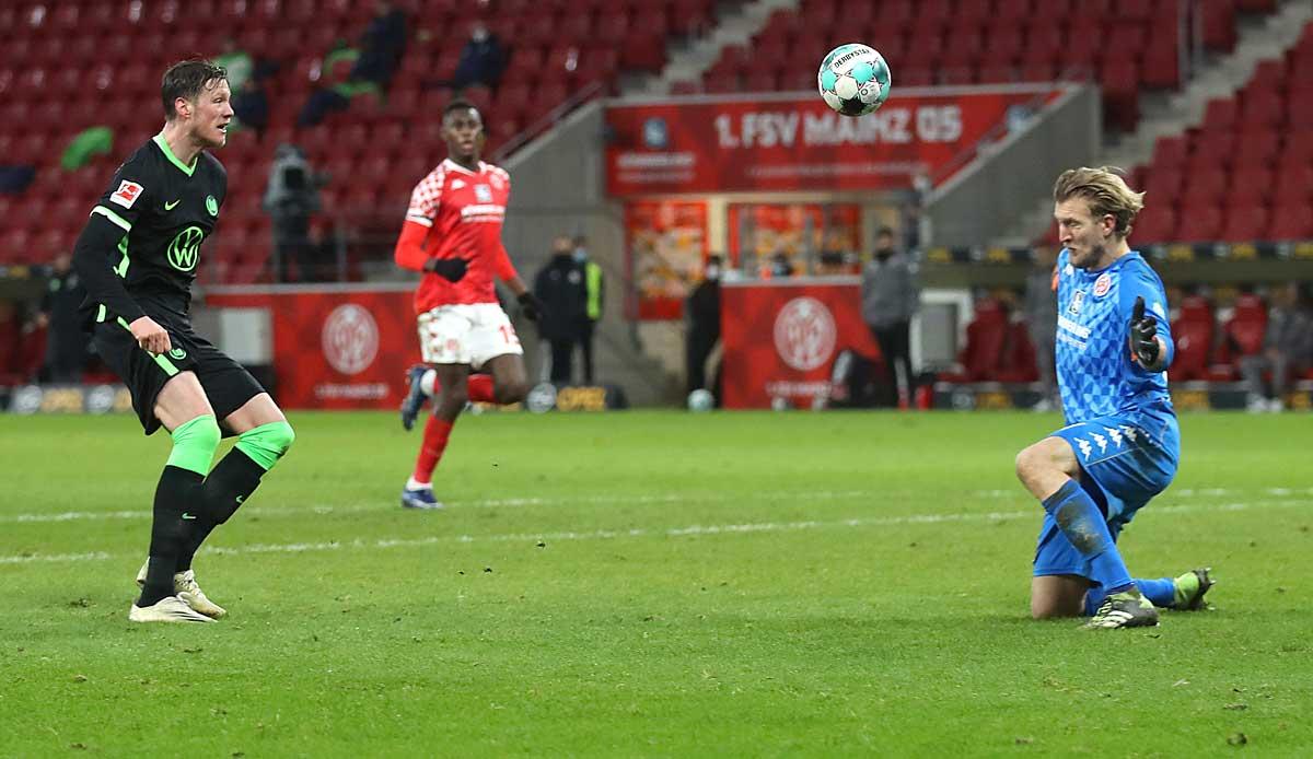 1. FSV Mainz 05 - VfL Wolfsburg 0:2: Mateta weg, nächste Niederlage! Die Luft für Mainz wird immer dünner