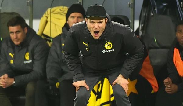 Von den elf Pflichtspielen unter Trainer Terzic seit der Entlassung von Lucien Favre Mitte Dezember gewann Dortmund nur sechs, zwei davon im DFB-Pokal gegen Zweitligisten - und beim 3:2 gegen den SC Paderborn auch noch durchaus glücklich.