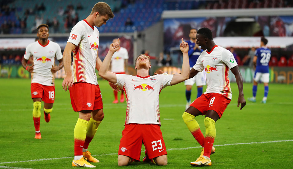 Schalke Leipzig 2021