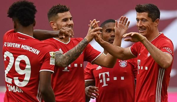 Bayern Gegen Frankfurt 2021