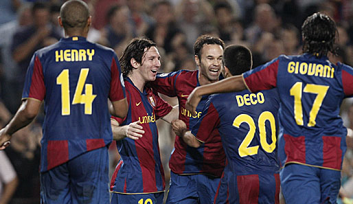 Messi, Henry, FC Barcelona, Deco, Champions League, Barca