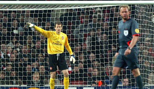 Jens Lehmann, Champions League, Arsenal